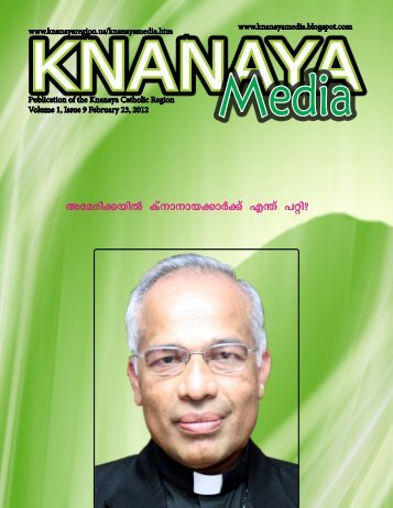 2012 February 23 - Knanaya Catholic Region