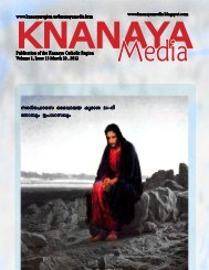 2012 March 22 - Knanaya Catholic Region