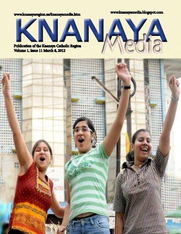 Knanaya Media March 8, 2012 - Knanaya Catholic Region