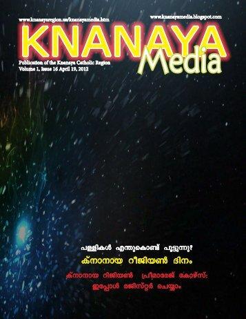 2012 April 19 - Knanaya Catholic Region
