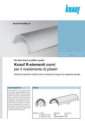 Knauf-FormBar.ch Per dare forma a soffitti e pareti