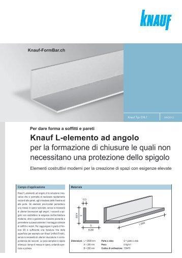 Per dare forma a soffitti e pareti Knauf-FormBar.ch
