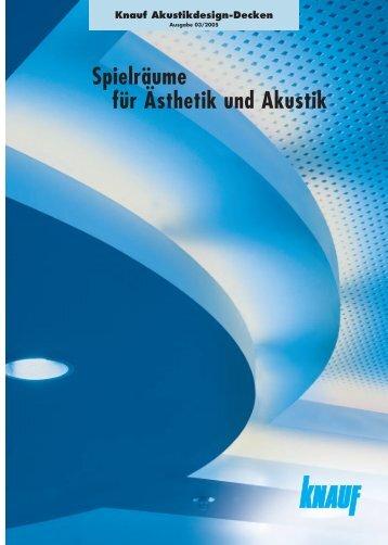 Akustik Design - Knauf FormBar