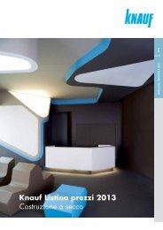 Listino prezzi 2013 (PDF 6668 KB)