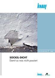 SOCKEL-DICHT Damit so was nicht passiert