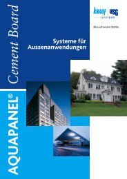 Systeme für Aussenanwendungen