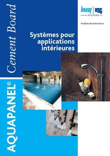Systèmes pour applications intérieures