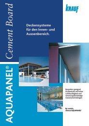 Deckensysteme für den Innen- und Aussenbereich. - Knauf AG