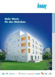 Mehr Werte für den Wohnbau - Knauf AG