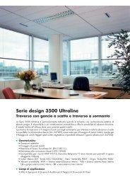 Serie design 3500 Ultraline - Knauf