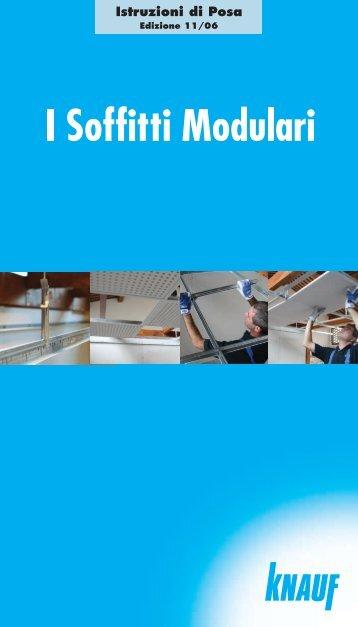 Manuale Posa Soffitti Modulari - Knauf