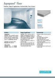 Aquapanel® Floor - Knauf