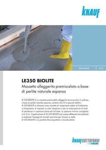 LE350 BIOLITE - Knauf