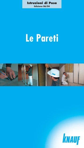 Manuale Posa Pareti - Knauf