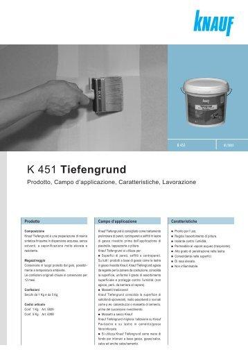K 451 Tiefengrund - Knauf
