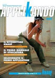 Applikando Gennaio 2004 - Knauf