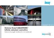 Book Referenze aquapanel - Knauf