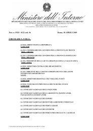 Circolare n°9 - D.M. 15-03-05 - Chiarimenti - Knauf