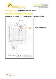 SAIEnergia Forum – programma seminari tecnici SAIEnergia ... - Knauf