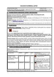 Finischspachtel weiss - saugos duomenų lapas (PDF / 132 KB) - Knauf