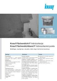 Knauf Flächendicht F hidroizoliacija Knauf Flächendichtband F ...