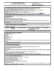 (GKF) - saugos duomenų lapas - Knauf