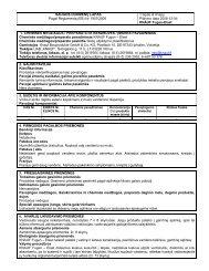 Fugen Elast - Saugos duomenų lapas - Knauf