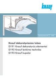 Dekoratyviosios lubos D19 sistema (PDF / 3764 KB) - Knauf