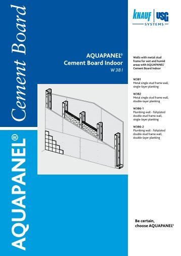 Aquapanel Cement Board Floor