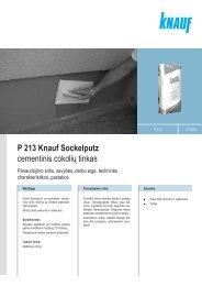 Sockelputz - Knauf