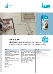 Knauf K6 plytelių klijų tech. instrukcijos (PDF / 561 KB)