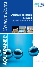 Design innovation assured - Knauf