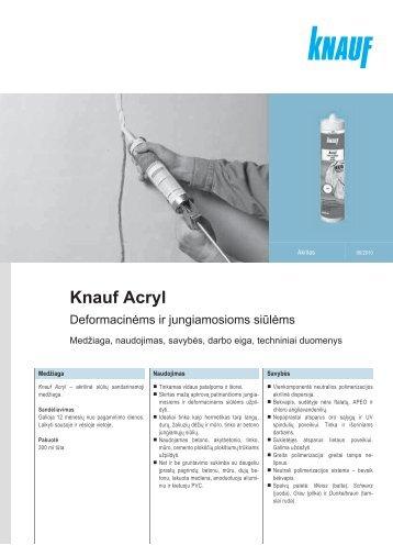 Knauf Acryl
