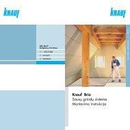 Brio - grindų įrengimo bukletas (PDF / 1348 KB) - Knauf