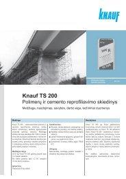 Knauf TS 200