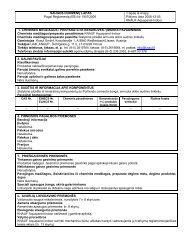 Aquapanel Indoor - saugos duomenų lapas - Knauf