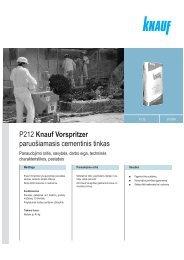 Vorspritzer - Knauf