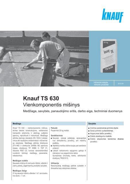 Knauf TS 630