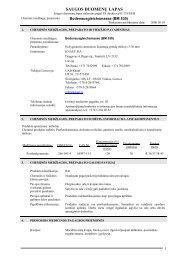 Bodenaunsgleischmsmasse (5-30) saugos duomenų lapas ... - Knauf