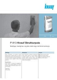 P 813 Knauf Strukturputz