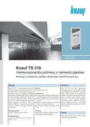 Knauf TS 310