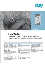 Knauf TS 500