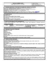 Nivellierspachtel 415 - saugos duomenų lapas