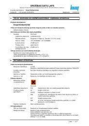 Klinkermörtel 94 KB - Knauf