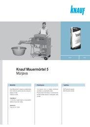Tehniskā lapa (PDF / 100 KB) - Knauf
