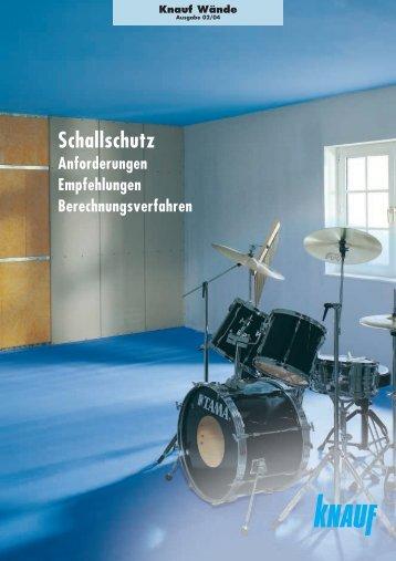 Schallschutz - Knauf