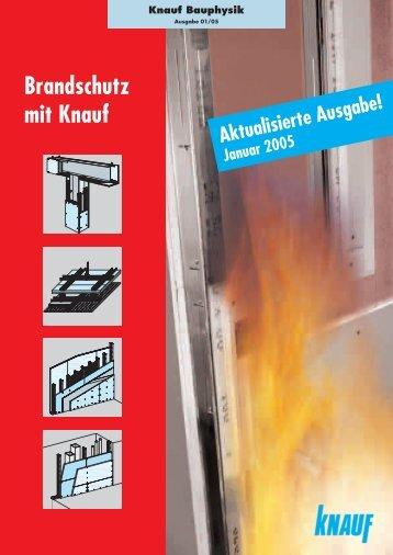 Brandschutz mit Knauf