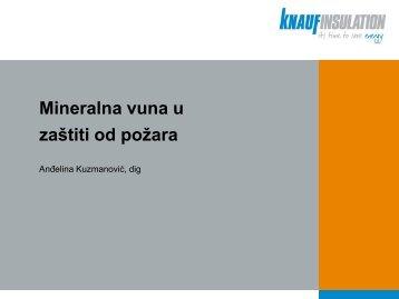 Mineralna vuna u zaštiti od požara - Knauf Insulation Serbia