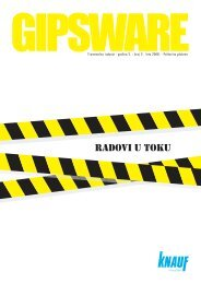 GIPSWARE br.6 - Knauf