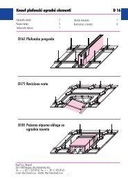 Plafonski ugradni elementi - Knauf